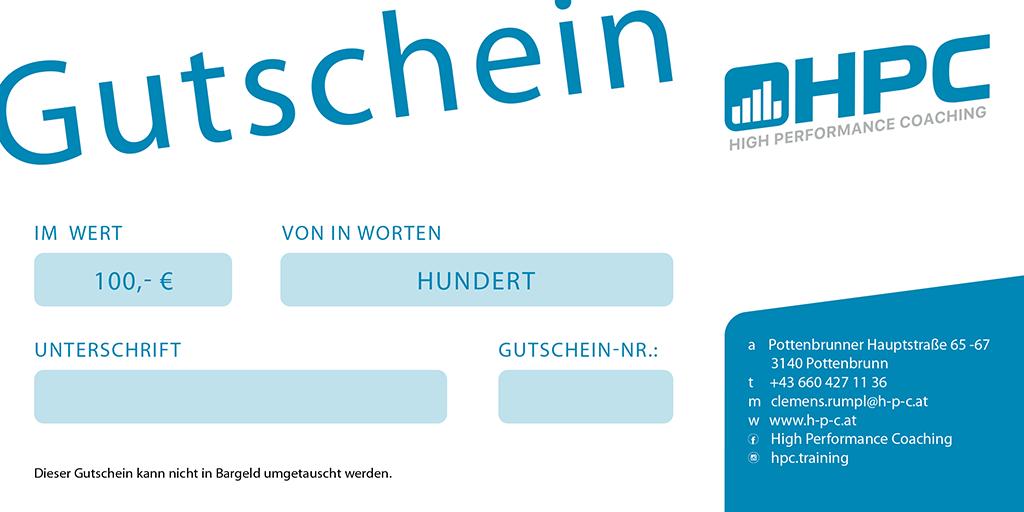 Gutschein P&C Online